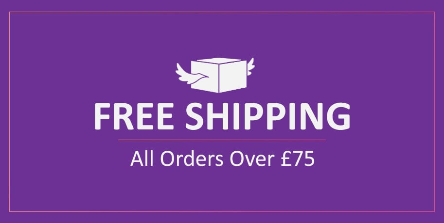 Free Shipping over £75